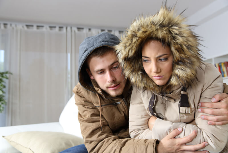 what to do when heating system fails