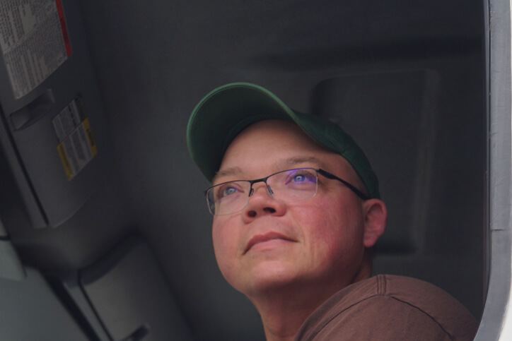 wayne george clean biofuels delivery driver