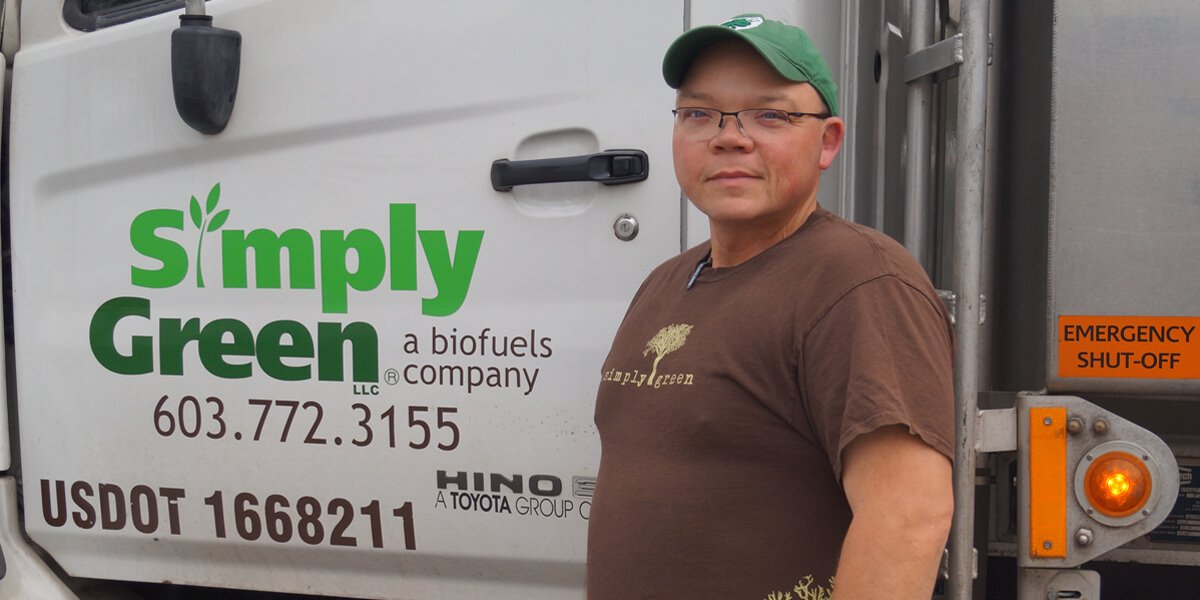 wayne george biofuels delivery driver